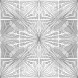 Naadloos Abstract Hand Getrokken Vectorpatroon Stock Afbeelding