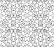 Naadloos Abstract Hand Getrokken Vectorpatroon Royalty-vrije Stock Foto's