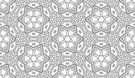 Naadloos Abstract Hand Getrokken Vectorpatroon Stock Afbeeldingen