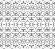 Naadloos Abstract Hand Getrokken Vectorpatroon Royalty-vrije Stock Afbeeldingen