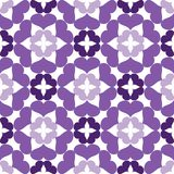 Naadloos abstract kunst lilac patroon Stock Foto