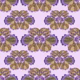Naadloos abstract lilac patroon stock illustratie