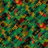 Naadloos abstract modern veelkleurig glitch effect patroon vector illustratie