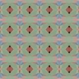 Naadloos abstract mozaïekpatroon Royalty-vrije Stock Foto's