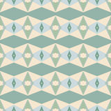 Naadloos abstract mozaïekpatroon Royalty-vrije Stock Fotografie