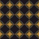 Naadloos abstract mozaïekpatroon Stock Fotografie