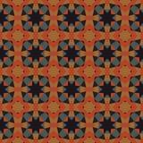 Naadloos abstract mozaïekpatroon Royalty-vrije Stock Foto