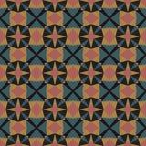 Naadloos abstract mozaïekpatroon Royalty-vrije Stock Afbeelding