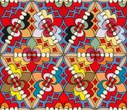 Naadloos abstract multicolored patroon 2 Stock Afbeeldingen