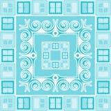 Naadloos Abstract Patroon Royalty-vrije Stock Fotografie