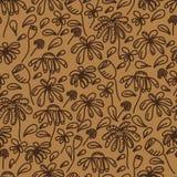 Naadloos abstract patroon Royalty-vrije Stock Afbeeldingen