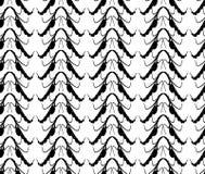 Naadloos abstract patroon als achtergrond Stock Afbeeldingen