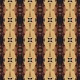 Naadloos abstract patroon in etnische stijl Royalty-vrije Stock Afbeelding