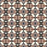 Naadloos abstract patroon in etnische stijl Royalty-vrije Stock Foto's