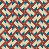 Naadloos abstract patroon met strepen Royalty-vrije Stock Afbeelding