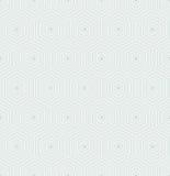 Naadloos Abstract Patroon met Zeshoeken Royalty-vrije Stock Foto