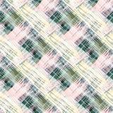 Naadloos abstract patroon in pastelkleuren Royalty-vrije Stock Afbeelding