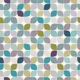 Naadloos abstract puntenpatroon royalty-vrije illustratie