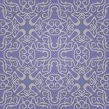 Naadloos abstract purper patroon met gradiënt Royalty-vrije Stock Afbeelding