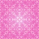 Naadloos abstract roze patroon met gradiënt Stock Afbeeldingen