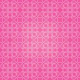 Naadloos abstract roze patroon met gradiënt Stock Fotografie