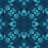 Naadloos Abstract Stammenpatroon (Vector) Stock Afbeeldingen