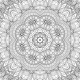 Naadloos Abstract Stammenpatroon (Vector) Stock Foto's