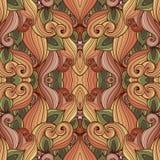 Naadloos Abstract Stammenpatroon (Vector) Royalty-vrije Stock Afbeeldingen