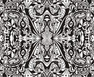 Naadloos abstract vectorbehang Royalty-vrije Stock Foto