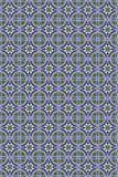 Naadloos abstract vectorpatroon Stock Foto