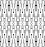 Naadloos abstract vectorpatroon Royalty-vrije Stock Afbeelding