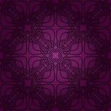 Naadloos abstract violet patroon met gradiënt Royalty-vrije Stock Afbeelding