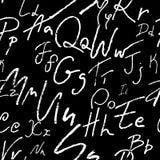 Naadloos alfabet Stock Foto