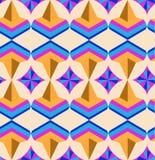 Naadloos Arabisch geometrisch 3d patroon Royalty-vrije Stock Foto