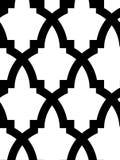 Naadloos Arabisch mozaïek Stock Afbeeldingen