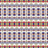 Naadloos Art Deco Pattern Stock Foto's