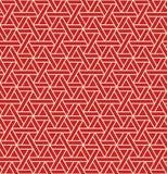 Naadloos astract geometrisch patroon met driehoeken - vectoreps8 stock afbeelding
