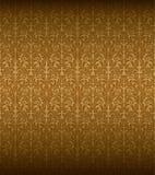 Naadloos Barok Patroon Stock Afbeelding