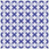 Naadloos batik halftone patroon Illustratie Royalty-vrije Illustratie