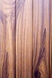 Naadloos beeld van donkere bruine houten patroon gedrukte metaalbeer Stock Afbeelding