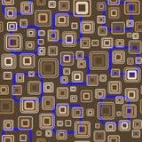 naadloos behang met vierkanten Stock Afbeelding