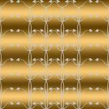 Naadloos behang van bloemenpatroon Stock Afbeelding