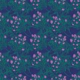Naadloos behangpatroon met tulpen in vaas Royalty-vrije Stock Fotografie