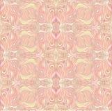 Naadloos beige patroon stock illustratie