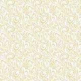 Naadloos bladerenachtergrond en patroon Royalty-vrije Stock Afbeeldingen