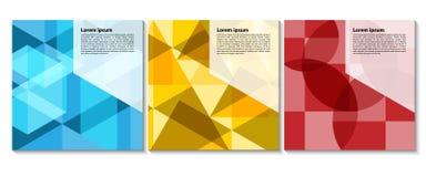 Naadloos blauw driehoekspatroon Geometrische abstracte textuur backg stock illustratie