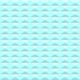Naadloos blauw driehoekspatroon Geometrische abstracte textuur backg vector illustratie