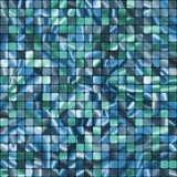 Naadloos Blauw het monster klaar patroon van Tegels. EPS 8 Stock Afbeelding