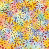 Naadloos bloem vectorpatroon Stock Foto's