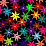 Naadloos bloembehang Stock Fotografie
